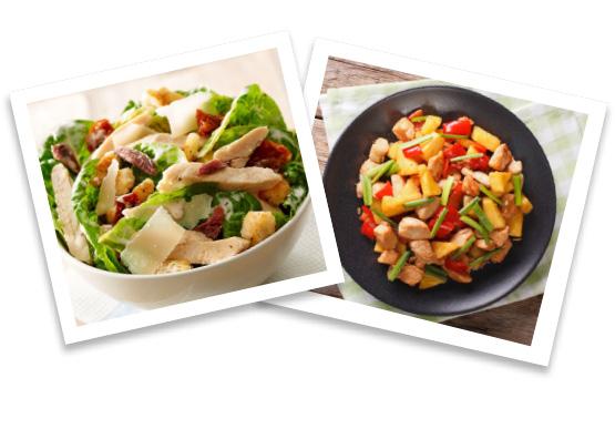 Salade en Wok